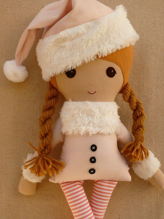 Custom Listing for Brandy  Fabric Doll Rag Doll by rovingovine