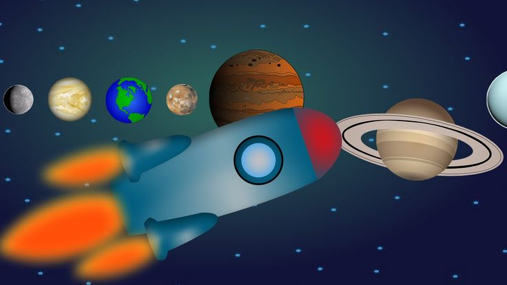 Let's explore our Solar System : Planets and Space cartoon by Animations...