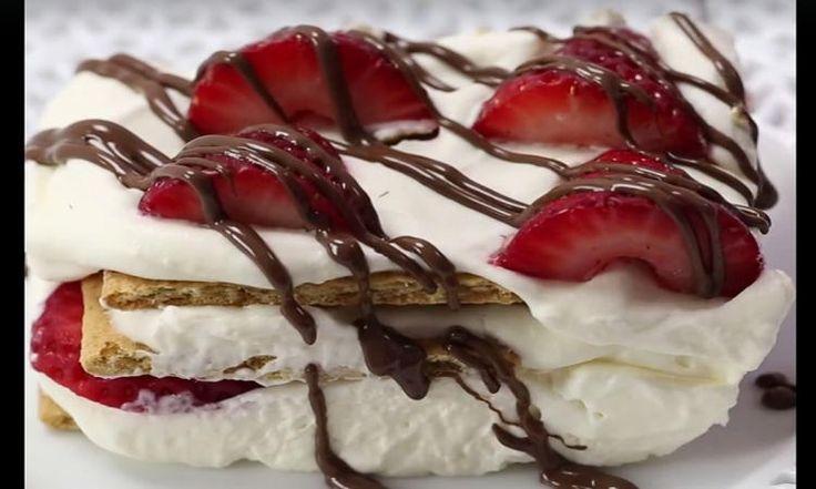 Besoin d'un dessert pour ce soir? Mon icebox aux fraises est parfait pour l'été!