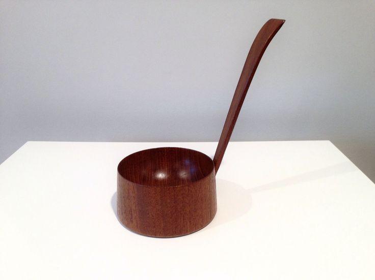 Ole Hansen for P Broste Denmark Danish Modern Teak Candle Cup | eBay
