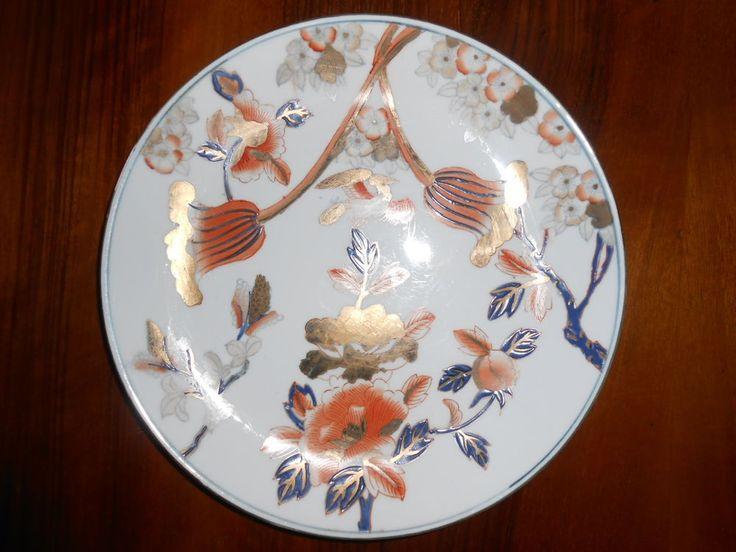 Dettagli su piatto cinese in porcellana fine 800 primi 900 for Piatto cinese
