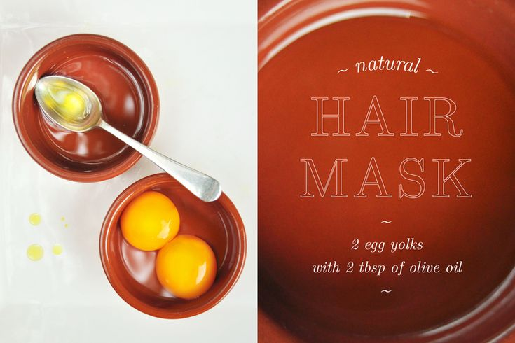 Make your own hair mask with 2 ingredients by El_Fait www.elfait.com