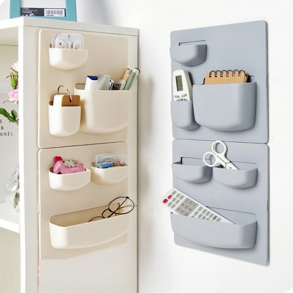 Wall Mounted Suction Cup Shelf Storagedelight Bathroom Wall Storage Wall Mounted Kitchen Storage Kitchen Storage Containers