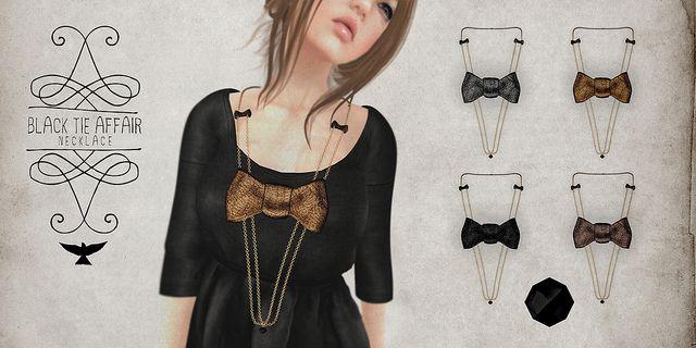 Lark - Black Tie Affair Necklace | Flickr - Photo Sharing!