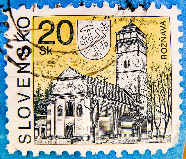Stamp - Slovakia 20Sk