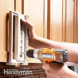 How To Install Cabinet Hardware - this post shows how to install hardware correctly & easily!