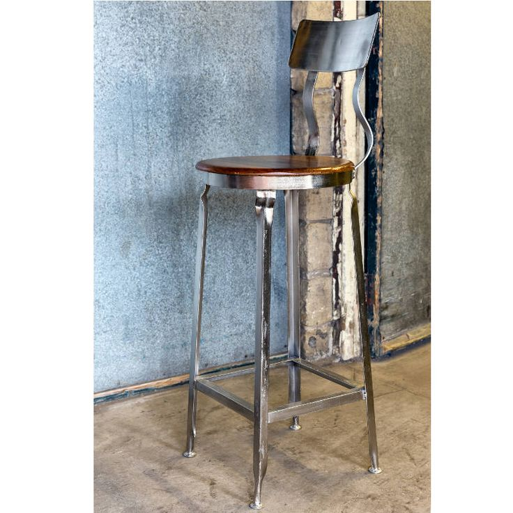 Industrial Bar Stool / Vintage Bar Stools From Andy Thornton