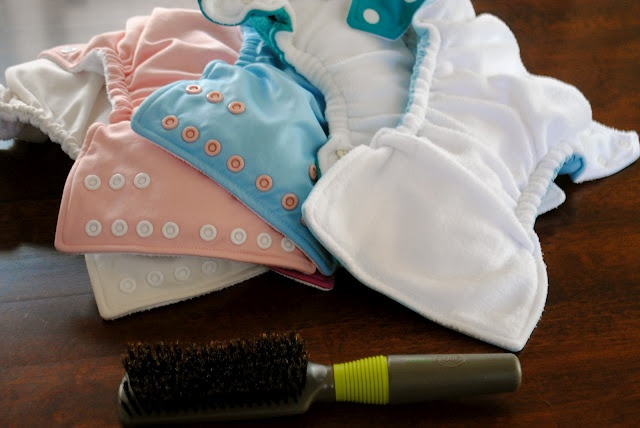 how to: make your cloth diapers like new again