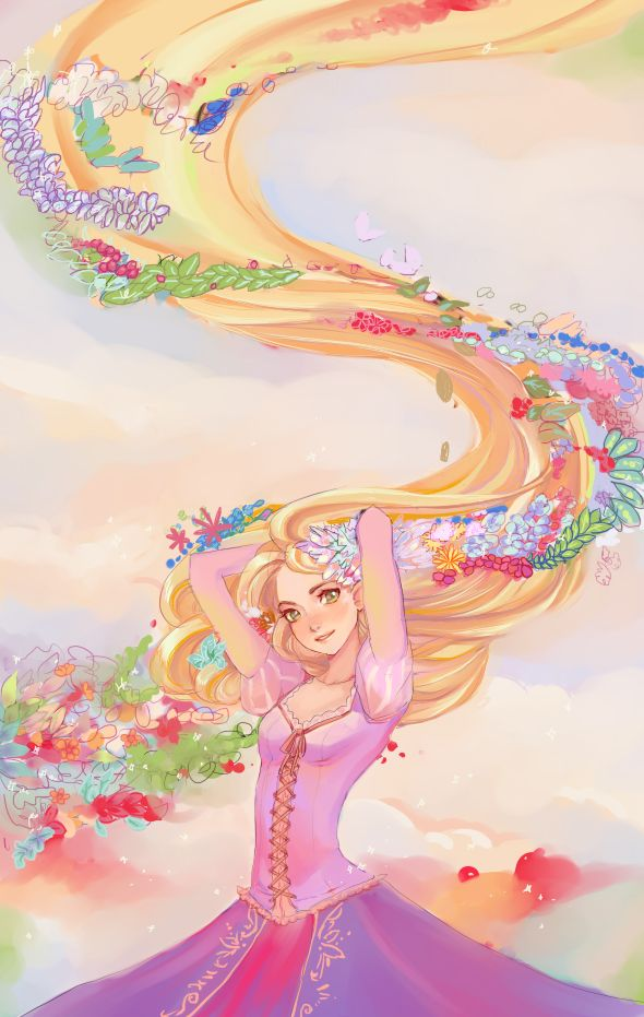 Rapunzel by hachiyuki.deviantart.com on @DeviantArt #disney | #tangled