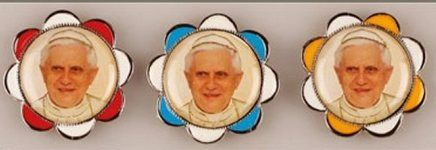 Pope Benedict 16th Car Plaque.