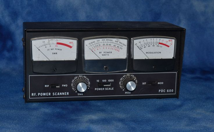 Wawasee Electronics Meters : Para dynamics pdc swr power meter for cb ham radio