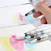 Acqua di colore pistone spazzola di scrittura cinese tradizionale giapponese calligrafia disegno pilota penna inchiostro illustrazione cancelleria per ufficio