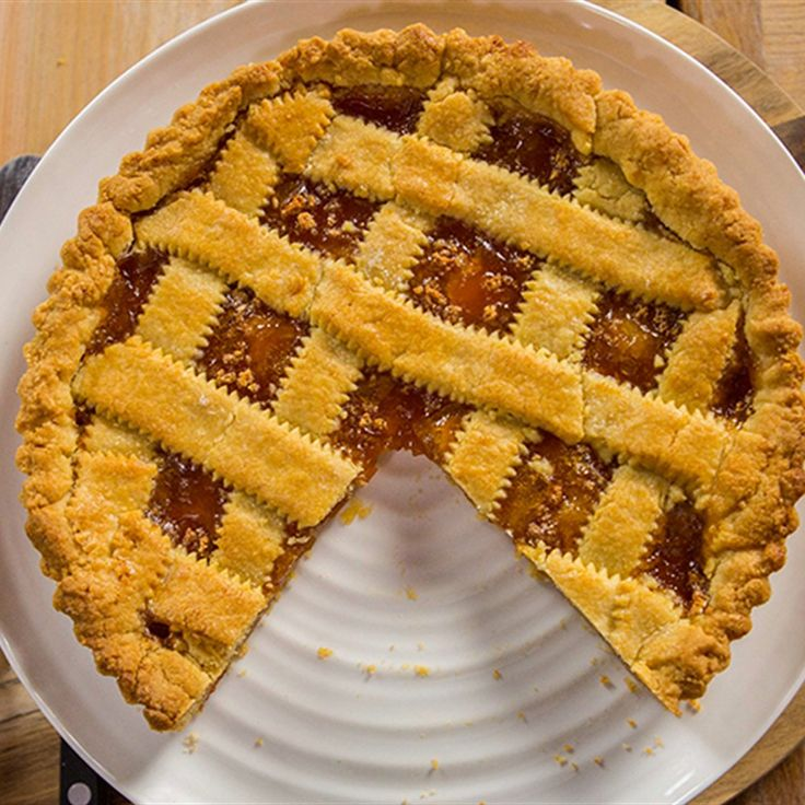 Try this Apricot and Rum Crostata recipe by Chef Michela Chiappa . This recipe is from the show Michela's Tuscan Kitchen.