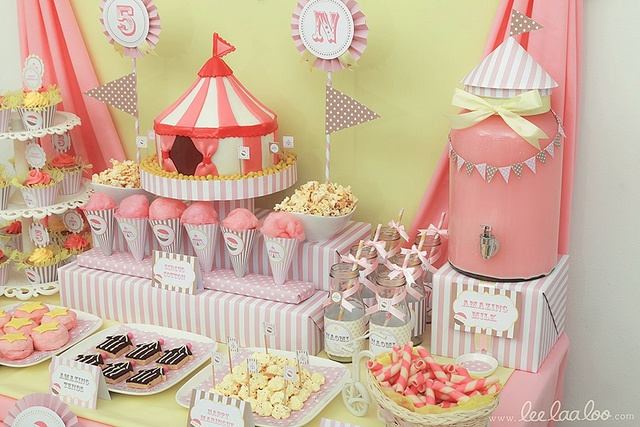 Circus 1st Birthday Party Idea Party Ideas Pinterest