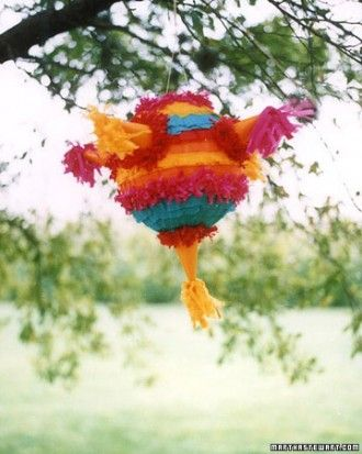"""See the """"Make a Pinata"""" in our Mexican Fiesta Party Ideas gallery"""