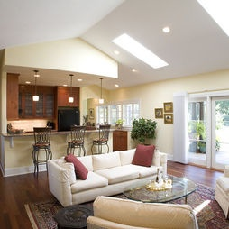 Interior - mediterranean - living room - other metros - Paul Moon Design