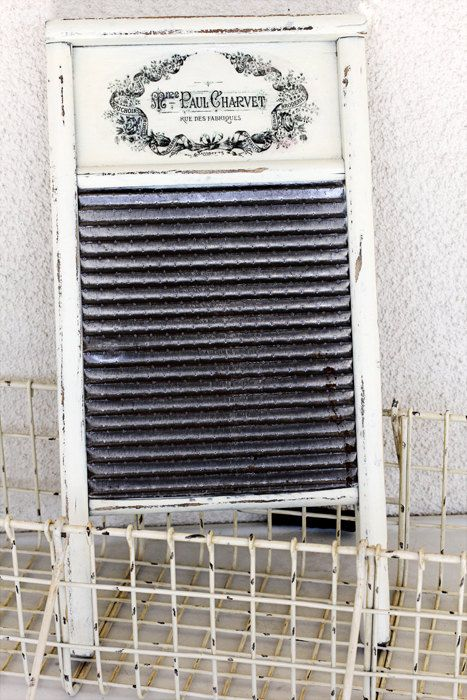Shabby Chic Washboard $25.00