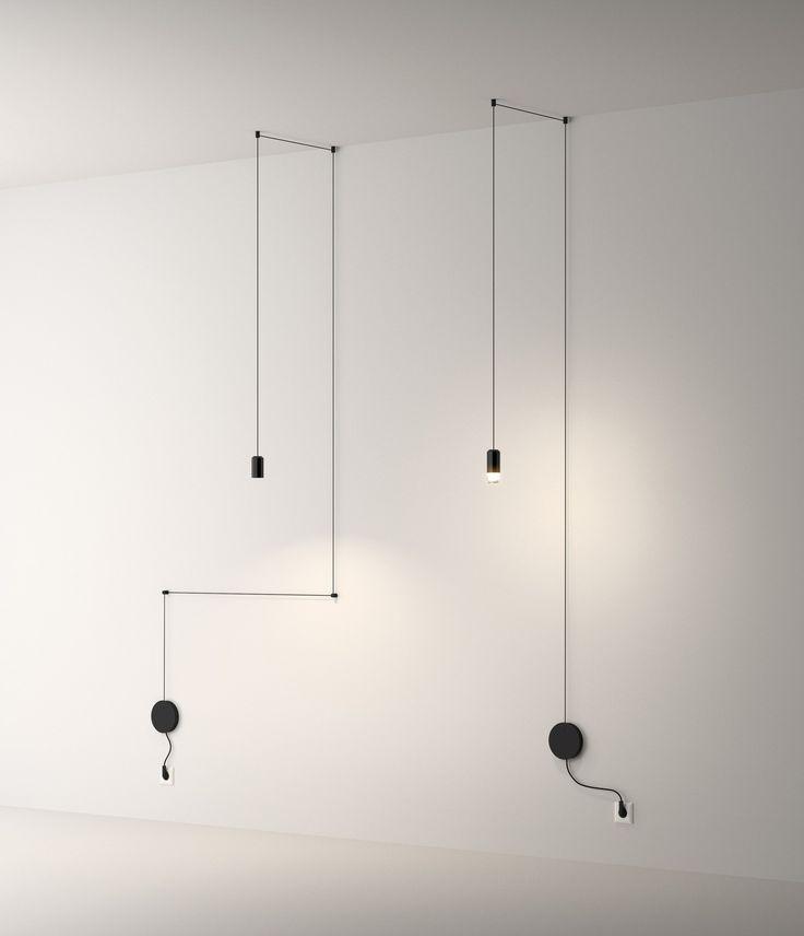 LED pendant #lamp WIREFLOW by @vibialight  | #design Arik Levy