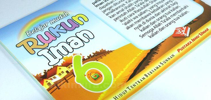 Buku Anak Islam Rukun Iman - Wahai anakku, pelajari dan pahami sungguh-sungguh rukun iman ini dan apa yang sudah kalian dapatkan maka lakukanlah segera, jangan di tunda-tunda dalam mengamalkannya.  Rp. 11.000,-  Hubungi: +6281567989028  Invite: BB: 7D2FB160 email: store@nikimura.com  #bukuislam #tokomuslim #tokobukuislam #readystock #tokobukuonline #bestseller #Yogyakarta #rukuniman
