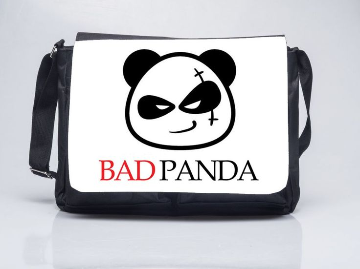 Rosssssz Panda - Oldaltáska Bad Panda Shoulder bag ORDER HERE: www.oldaltaska.hu hello@oldaltaska.hu