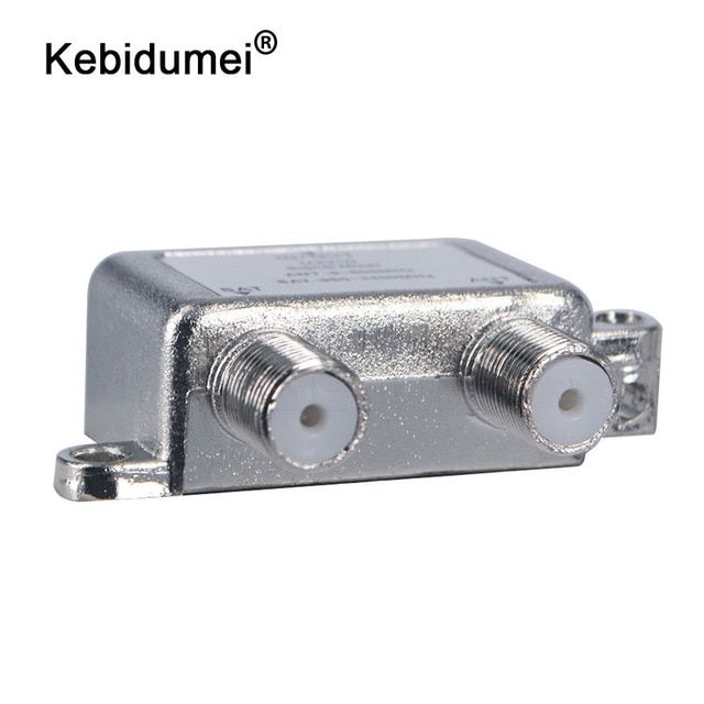 Kebidumei 2 Way Port Tv Signal Mixer Satellite Coaxial For Ant Sat Vhf Uhf Diplexer Combiner Splitter Combiners Cable Switch Review Satellites Splitters Ants