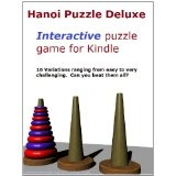 Hanoi Puzzle Deluxe for Kindle (16 Interactive Puzzles Variations) (Kindle Edition)By K. Lenart
