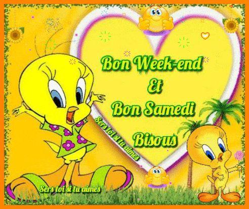 Bon Week-end et Bon Samedi Bisous #samedi