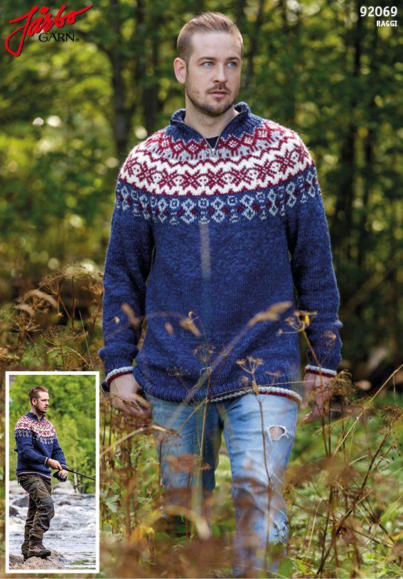 Men's outdoor sweater.