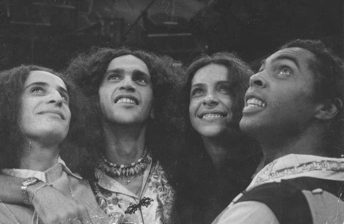Maria Bethânia, Caetano Veloso, Gal Costa e Gilberto Gil