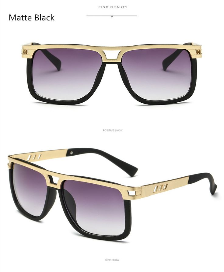 Women Brand Designer Vintage Big Frame Sun Glasses For Men 2017 Fashion Square Flat Top Sunglasses Oculos De Sol Feminino Like and Share if you agree! Visit our store