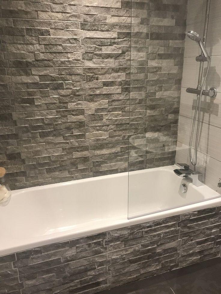 ribera grey slate effect wall tiles in 2020  slate