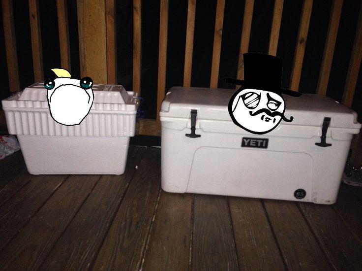 Funny Yeti Cooler Camping Jokes