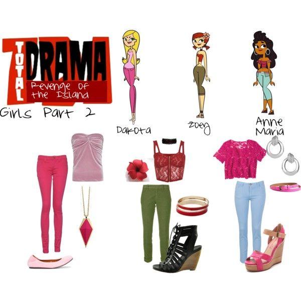 Total Drama Revenge Of The Island Fashion School