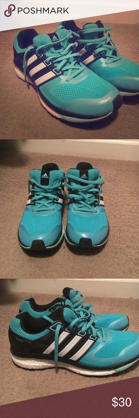 Adidas glide boost Barely worn- still new Adidas Shoes Athletic Shoes