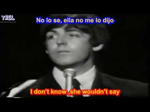 The Beatles - Yesterday ( SUBTITULADA ESPAÑOL INGLES )