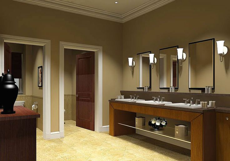 Bathroom design 12 popular commercial bathroom designs for Church bathroom ideas