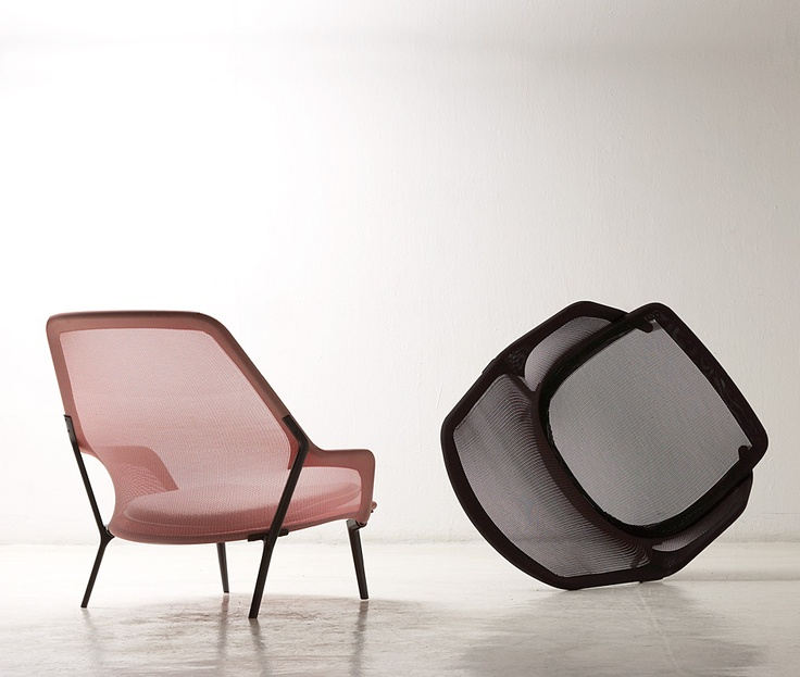Slow Chair By Ronan And Erwan Bouroullec · Lounge ChairsMesh ...