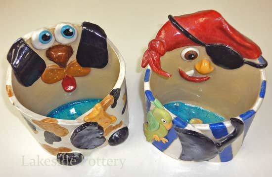 hug animal clay project (slab construction): Pirates, Clay Project, Art Class, Dog
