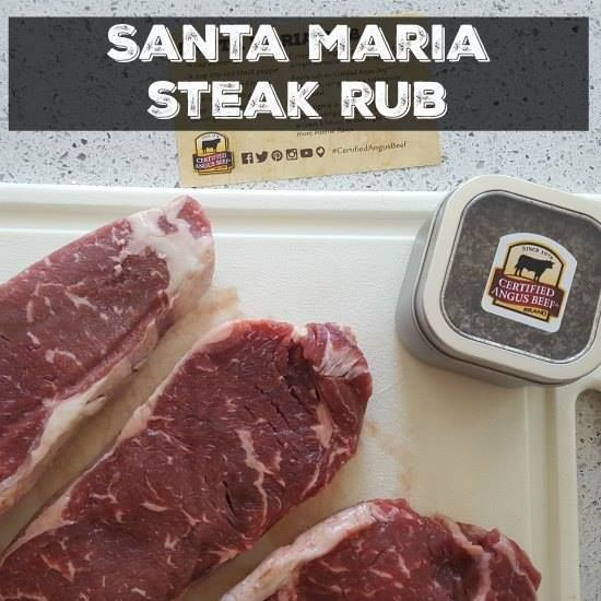 This Santa Maria Steak Rub Recipe will give your steak the flavor it has been missing. #12daysof #12daysofBBQIdeas