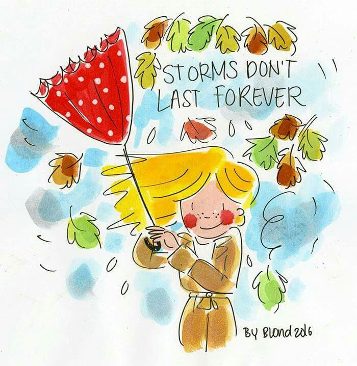 Blond Amsterdam ✿ Storms don't last forever
