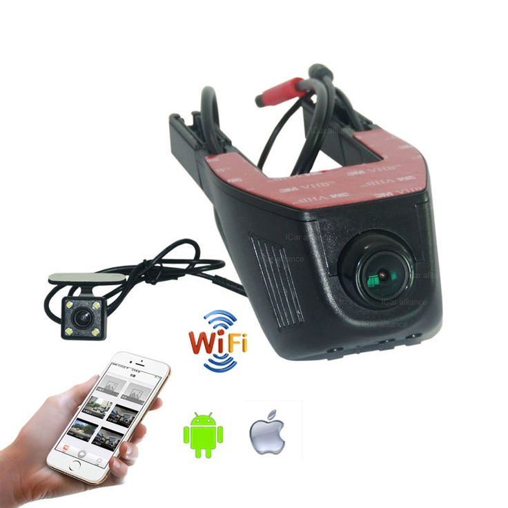 For Nissan Bluebird Sylphy Car Parking Camera Car Wifi DVR  Novatek 96658 Dual Camera Car Black Box camcorder
