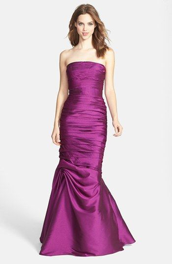 Radiant Orchid Bridesmaid Gown