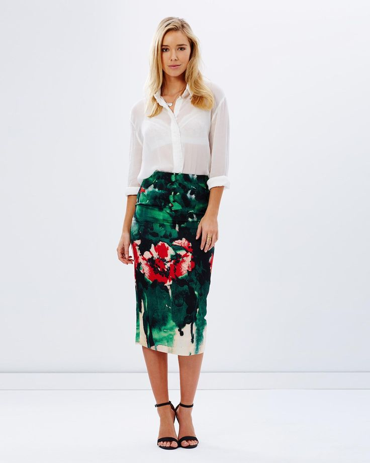 Kitchy Ku - Genevieve Skirt B