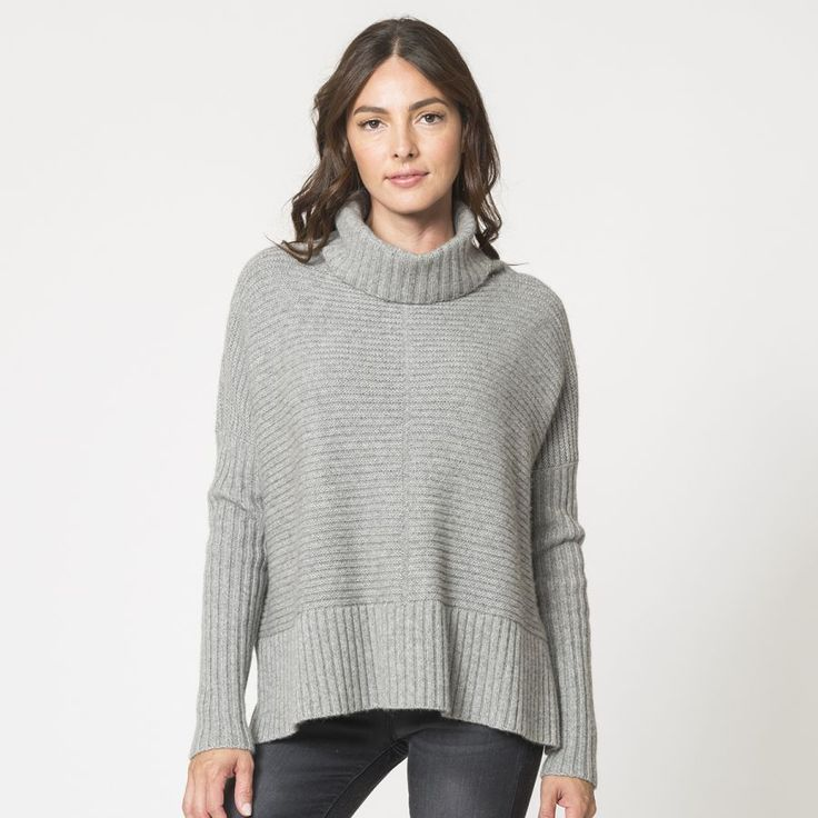 Autumn Cashmere cowl neck sweater