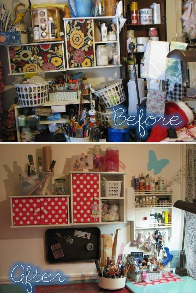 Purge, Re-org, and Re-style Your Craft Room. If I Can, Anyone Can!