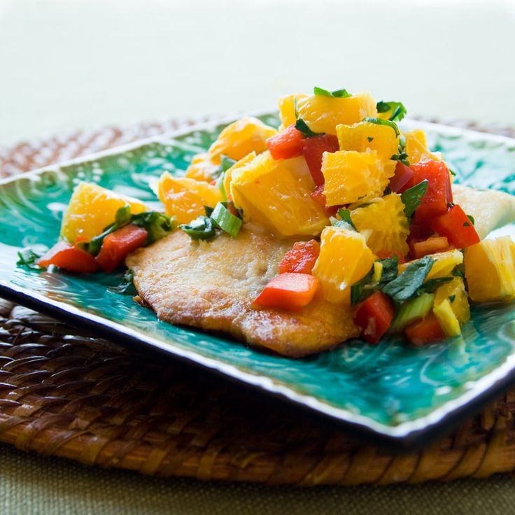 tilapia with tangerine salsa | Healthy Seasonal Recipes # ...