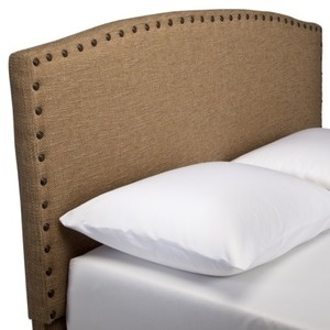NEEDED: One burlap headboard - $186.99 @Target  make myself for boys travel theme room