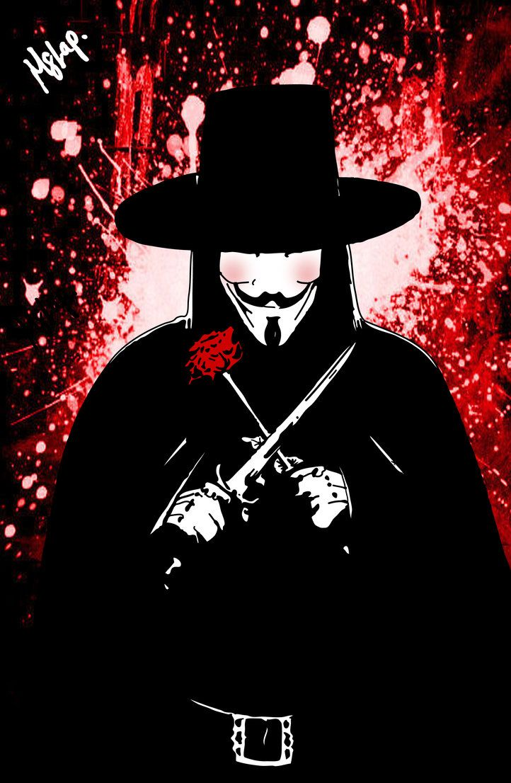 V for Vendetta by Mstap