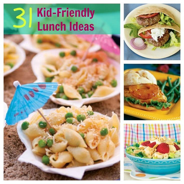 31 Kid-Friendly Lunch Ideas