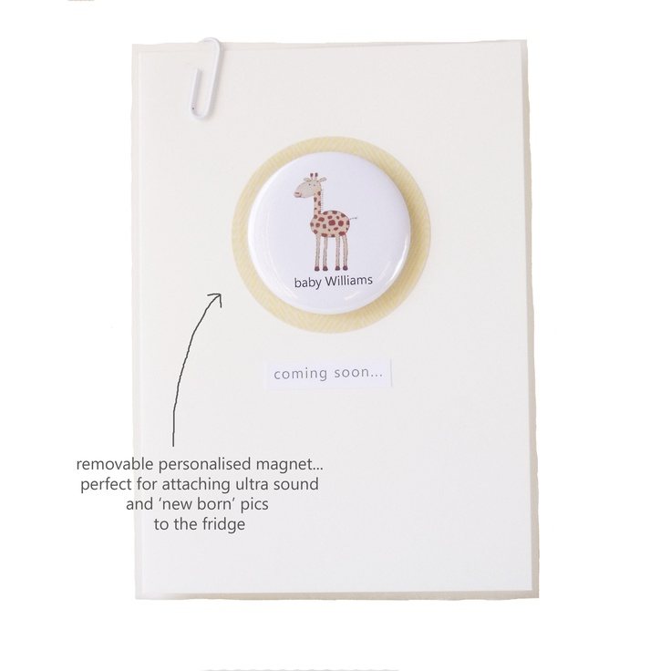 'Baby Bump' greeting card, the perfect baby shower card available at http://ooakly.blogspot.com.au